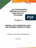 PROINTER II TECS2 Manual e Ficha Descritiva