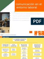 La Comunicación en El Entorno Laboral (1)