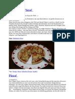 Pizza - Mehrere Varianten