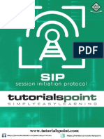 Session Initiation Protocol Tutorial