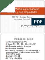 formacion de los minerales y rocas