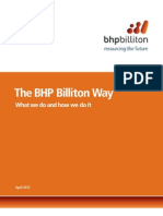 The BHP Billiton Way April 2012