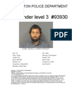 Northampton Police release new sex offender registration