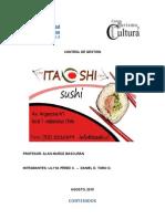 Control de Gestión de Empresa. Sushi