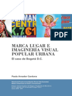 Marca Lugar e imaginería visual popular urbana