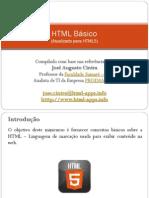 HTML 5 Introdução