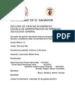 Ejemplo Encuesta Sociología General