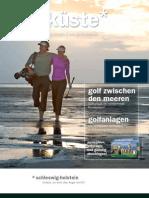 Golfmagazin 2010 - Golfküste Schleswig-Holstein