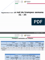 Ajustes Red de Trampeo (Sem 31 - 35)
