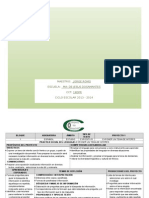 4o Planificacion Bim1 Comparte 2013-14 -Romo