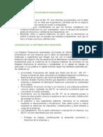 Limitaciones y Usuarios de Los Estados Financieros