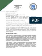 syllabus lengua castellana 6b