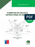 Ejemplos de calculo estructural en madera V2