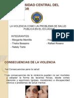 La Violencia Un Pla violencia un problema de salud publicaroblema de Salud Publica