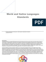 world native languages standards k-12