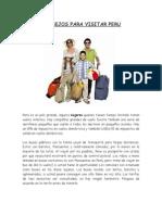 CONSEJOS PARA VISITAR PERU.docx