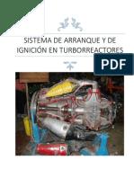 Sistema de Arranque y de Ignición en Turborreactores