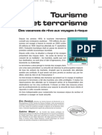 Tourisme Et Terrorisme