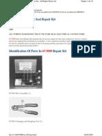 SMHS7531 - Uso Del Kit de Reparacion de Conectores Sure Seal 6v3000