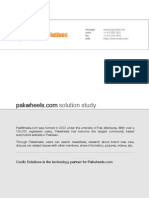 Case Study - PakWheels
