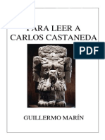 Para Leer a Carlos Castaneda