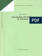 Renato Laurenti Introduzione alla Politica di Aristotele  1992.pdf