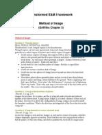 Homework Method of Images