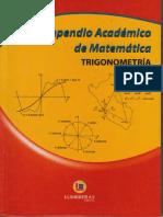 Compendio TRIGONOMETRIA - LUMBRERAS