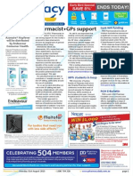 Pharmacy Daily for Mon 31 Aug 2015 - Pharmacist PLUSPLUS GPs support, Integrated growth - Mayne, $50k WA funding, Pharmacy BP measures OK and much more