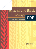 África e Diáspora Negra