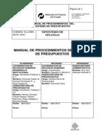 a2 Manual Proced- Sistema Presupuesto