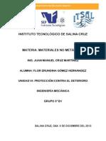 Proteccion Contra El Deterioro Inv. VII