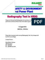 Radiography Test Notice