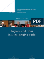 Regions and Cities in a Challenging World