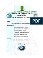 Sistema de Gestion Medio Ambiental