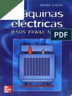 Máquinas Eléctricas - Jesús Fraile Mora (6ta Edición)