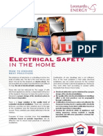 Electrical Safety in the Home