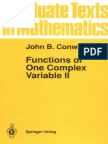 Functions of One Complex Variable (Part 2) - John B. Conway