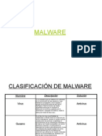 ClasificaciÓn de Malware