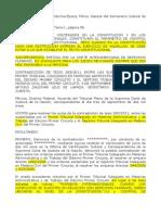 Sentencia de La Corte Interamericana Alcances.