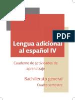 4 Lengua Adicional Al Espanol IV