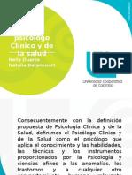 Rol Del Psicologo Clinico y de La Salud
