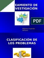 Planeamiento de La Investigacion - Clases 2014