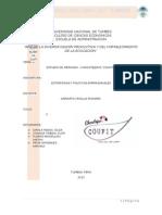 Estudio y Segmentacion Del Mercado de Chocotejas