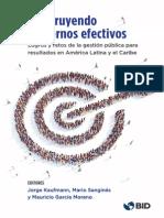 Construyendo Gobiernos Efectivos Avances en Planificacion