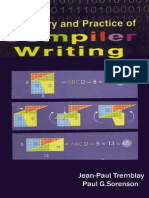 The Theory and Practice of Compiler Writing