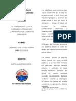 """""""EL DESASTRE NUCLEAR DE CHERNOBYL-UCRANIA 1986"""" LA IMPORTANCIA DE LA GESTIÓN DE RIESGOS"""