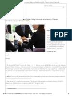 Aplicación Temporal Del Nuevo Código Civil y Comercial de La Nación – Plenario _ Thomson Reuters Latam