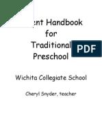 Parent Handbook All Day