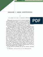AGESTA - Ideologia y Orden Constitucional